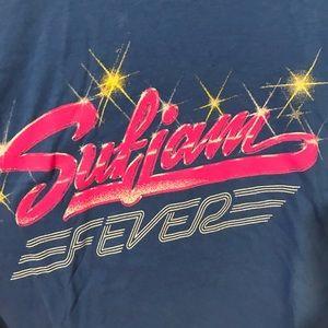 sufjan stevens Tops - Sufjan Stevens 80s Logo Concert Tee - Sufjan Fever